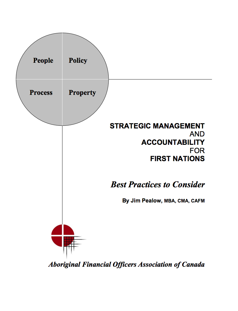 STRATEGIC MANAGEMENT AND ACCOUNTABILITY FOR FIRST NATIONS