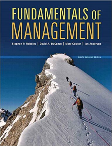 Fundamentals of Management, Eighth Canadian
